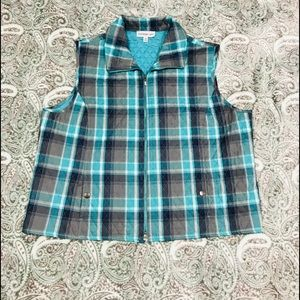 Southern Lady Quilted Zippered Vest
